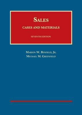 Cases and Materials on Sales