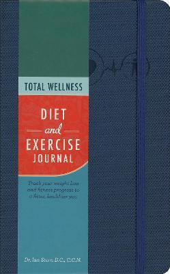 total wellness diet and exercise journal ian stern 9781631061295
