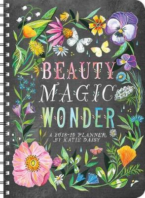 Katie Daisy 2018 - 2019 Weekly Planner
