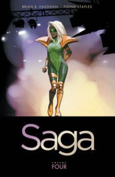 Saga Volume 4 Cover Image