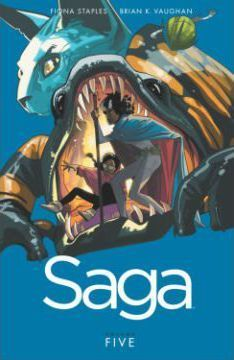 Saga Volume 5 Cover Image