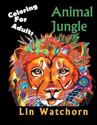 Animal Jungle : Coloring for Adults