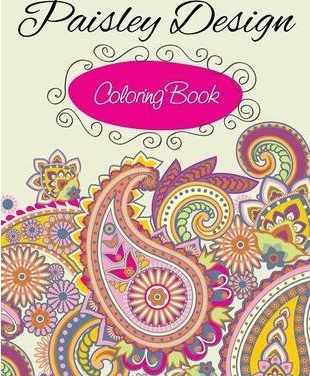 Paisley Designs Coloring Book : Speedy Publishing LLC : 9781633838178
