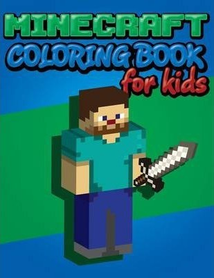minecraft coloring book for kids - Minecraft Coloring Books