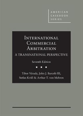 International Commercial Arbitration - A Transnational Perspective