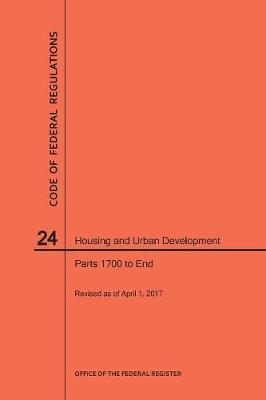 Code of Federal Regulations Title 24, Housing and Urban Development, Parts 1700-End, 2017