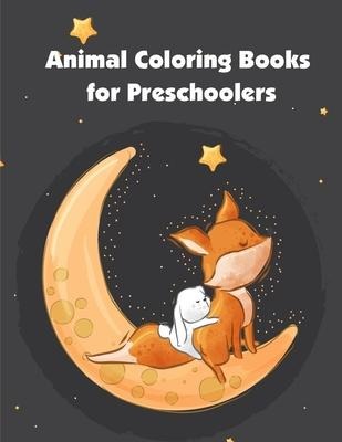 Animal Coloring Books for Preschoolers