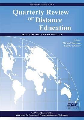 Quarterly Review of Distance Education Volume 16, Number 2, 2015