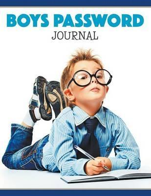 Boys Password Journal
