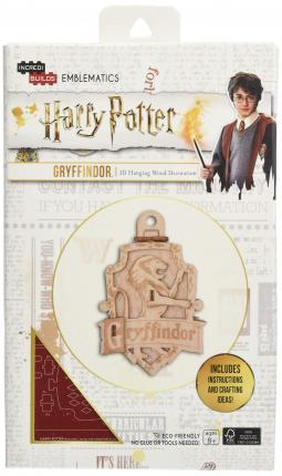 IncrediBuilds Emblematics: Harry Potter: Gryffindor