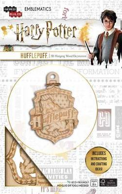 IncrediBuilds Emblematics: Harry Potter: Hufflepuff