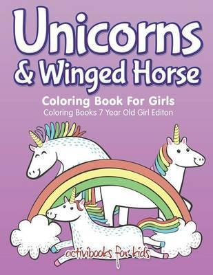 Unicorns & Winged Horse Coloring Book for Girls - Coloring Books 7 ...