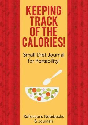 keeping track of the calories small diet journal for portability