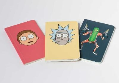 Rick and Morty: Pocket Notebook Collection: Set of 3