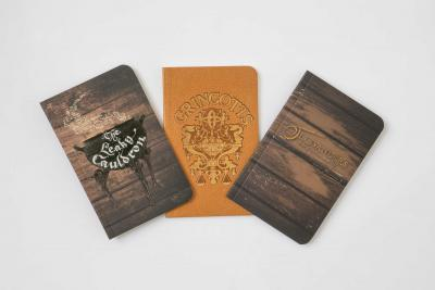Harry Potter: Diagon Alley Pocket Journal Collection: Set Of 3 by Insight Editions