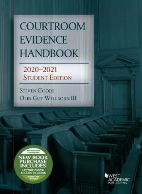 Courtroom Evidence Handbook, 2020-2021 Student Edition