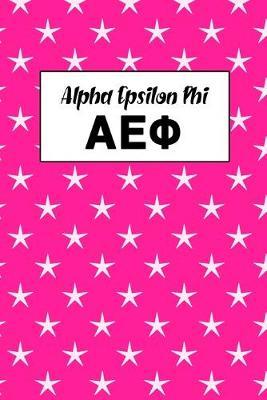 Alpha Epsilon Phi  Journal Planner for Sororities and Sorority Sisters
