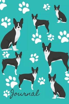Journal : Anxiety Journal and Coloring Book 6x9 90 Pages Positive Affirmations Mandala Coloring Book - Boston Terrier Dog