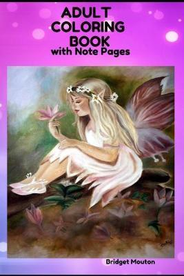 Adult Coloring Book  With Notes
