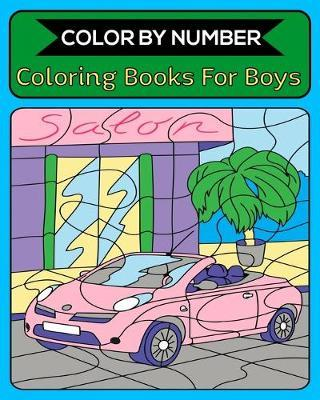 Color By Number Coloring Books For Boys : Royal Activity ...