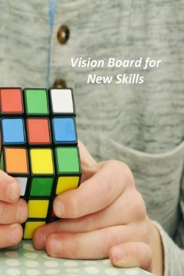 Vision Board for New Skills  A Goal Tracker Journal