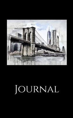 Journal  Brooklyn Bridge; 100 sheets/200 pages; 5 x 8