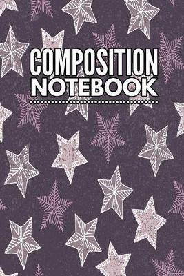 Composition Notebook  College Ruled 6 x 9 Artic Deer Design Writing Notes Journal, Office, Kids, School and college student