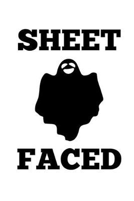 Notebook  Halloween Ghost Pun Funny Costume Gift 120 Pages, 6X9 Inches, Lined / Ruled
