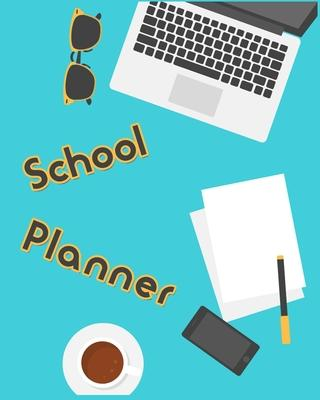 School Planner  Monthly Organizer with Inspirational Quotes, Schedule, Homework, Notes, and More