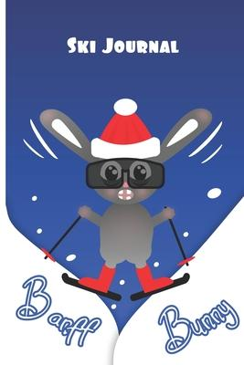 Banff Bunny Ski Journal  All in one planner for Snowboarders or Skiers - record ski resorts, runs, accommodation, restaurants, equipment wish lists, contacts and more