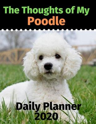 The Thoughts of My Poodle : Daily Planner 2020
