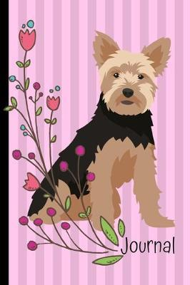 Journal : Gratitude Journal 6x9 100 Pages Yorkshire Terrier Dog Pink Cover
