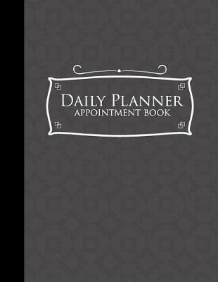 Daily Planner Appointment Book  6 Columns Appointment Note, At A Glance Appointment Book, Large Appointment Book, Grey Cover