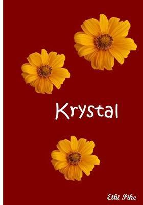 Krystal  Collectible Notebook