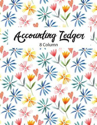 8 Column Accounting Ledger