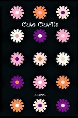 Cute Outfits Fashion Planning Blank Lined Journal 6 x 9 150 Pages