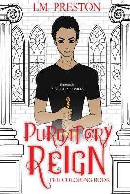 Purgatory Reign Series Coloring Book