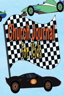 Church Journal for Kids  Race Day 6x9 Inch Sermon Notes Journal and Church Activity Books for Kids Journal, Draw, Doodle and Learn about the Bible