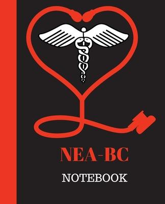 NEA-BC Notebook  Nurse Executive Advanced-Board Certified Notebook Gift - 120 Pages Ruled With Personalized Cover