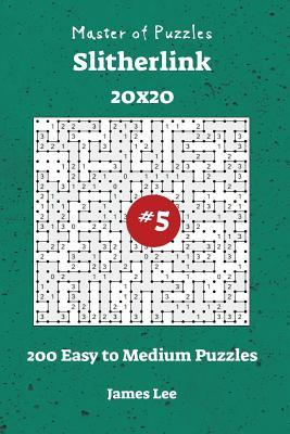 Master of Puzzles Slitherlink - 200 Easy to Medium 20x20 Vol. 5