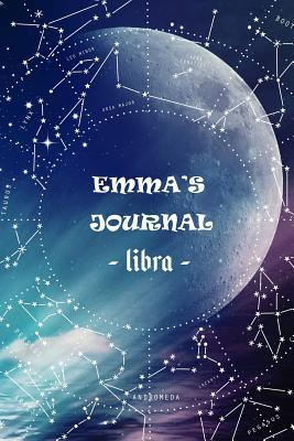 Emma's Journal Libra  Personalized Astrology Zodiac Sign Birthday Notebook Diary for Women