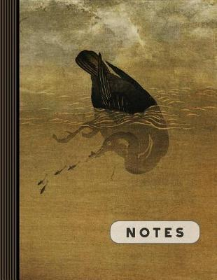 Notes  Composition Notebook Journal (Large) - Ruled Lined Writing and Journaling Book - Japanese Sea-Scape Art
