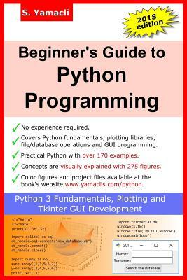 Beginner's Guide to Python Programming  Learn Python 3 Fundamentals, Plotting and Tkinter GUI Development Easily