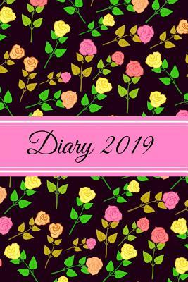 Diary 2019  Roses Floral Pattern