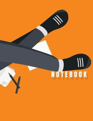 Notebook  Worker Cover (8.5 X 11) Inches 110 Pages, Blank Unlined Paper for Sketching, Drawing, Whiting, Journaling & Doodling