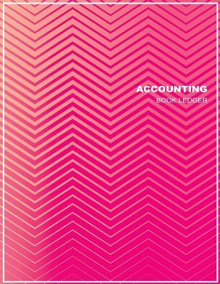 Accounting Book Ledger  General Ledger Book for Record and Track of Finances Size 8.5 X 11 Inches 110 Pages