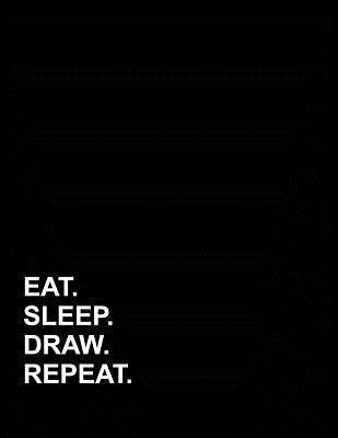Eat Sleep Draw Repeat  Appointment Book 2 Columns