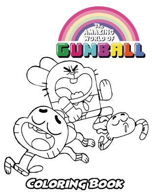The Amazing World Of Gumball Coloring Book Alexa Ivazewa 9781729783412