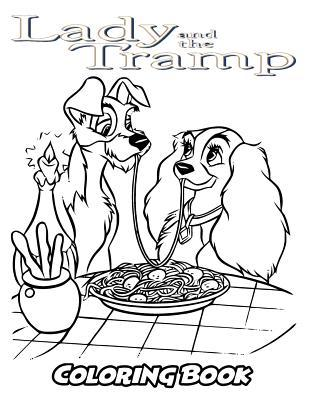 Lady And The Tramp Coloring Book Alexa Ivazewa 9781729783498