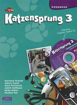 Katzensprung 3 Workbook and Audio CD
